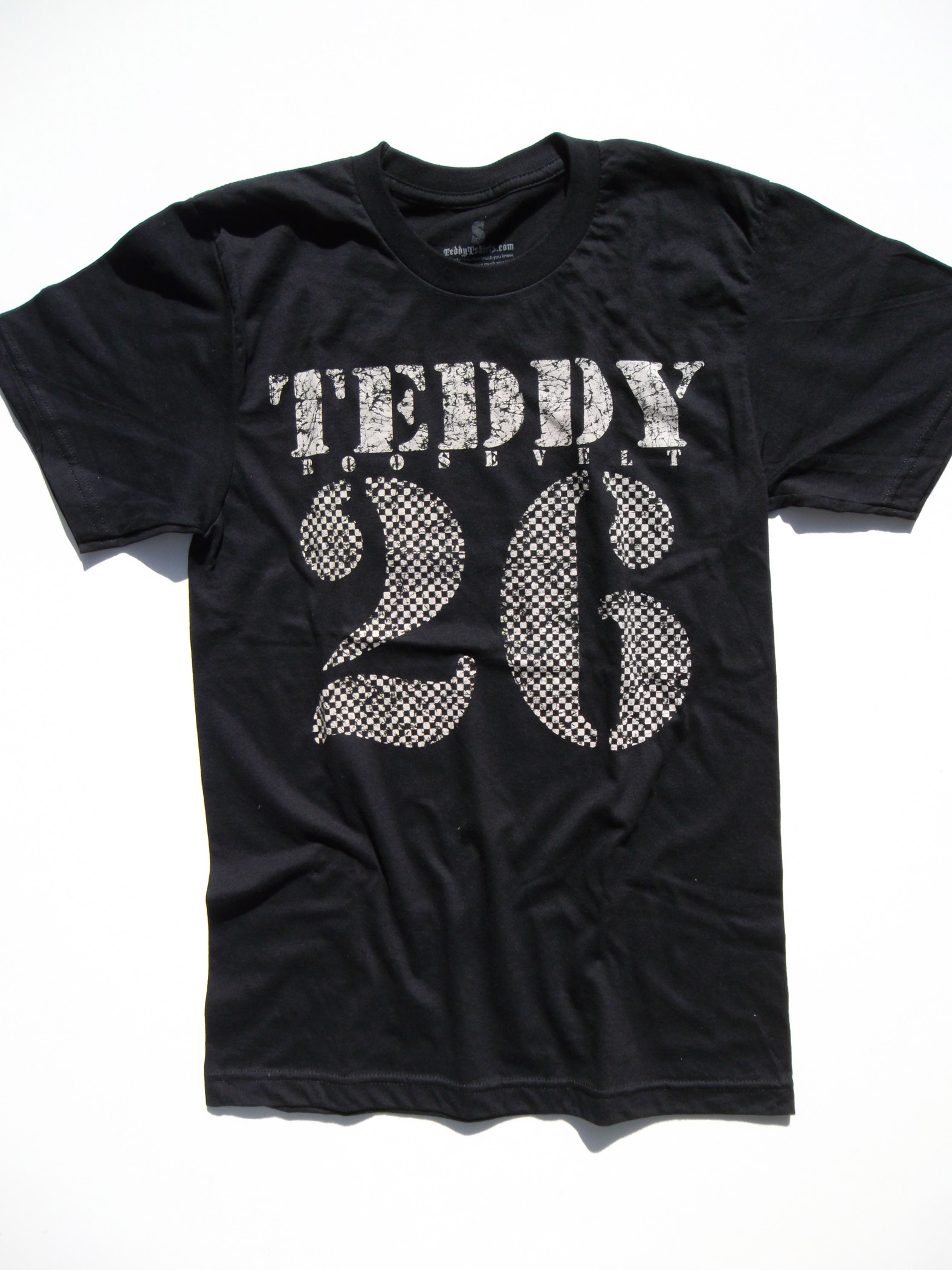 Teddy-26-Mens-Black-Tshirt